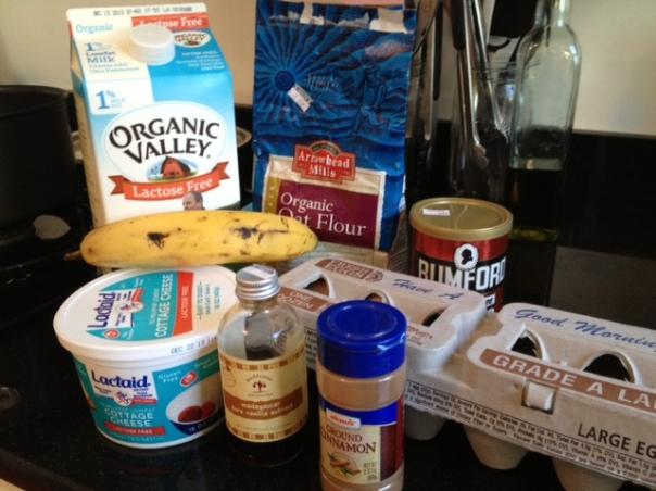 banana berry pancake ingredients