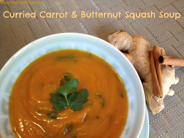 Curried Carrot & Butternut Sqush Soup2jpg