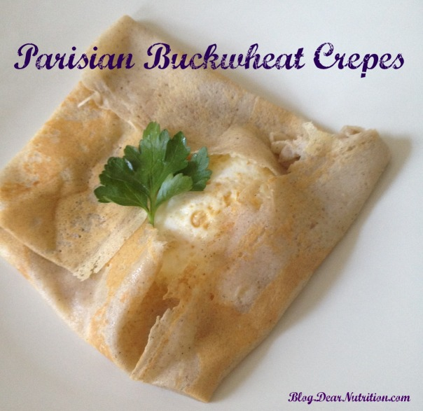 Parisian Buckwheat Crepes