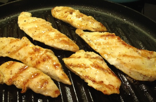 lemony chicken grill